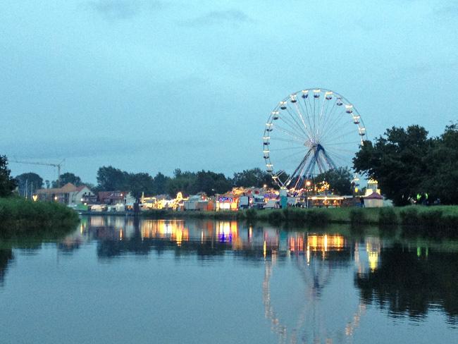 Fischerfest in Greifswald, Riesenrad, Ausflugstipp