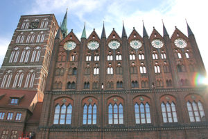 historische Hansestadt Altstadt Stralsund